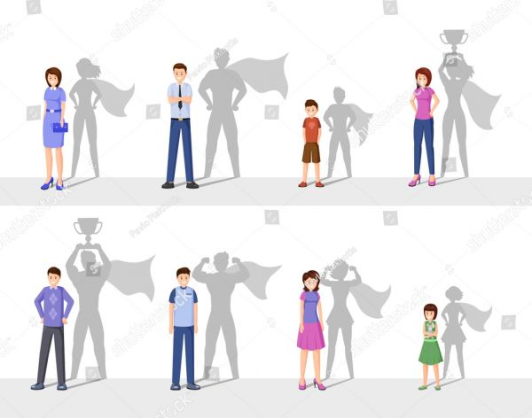 Stock-vector-leadership-flat-vector-illustration-happy-people-with-superhero-shadow-confident-men-women-and-1450725725.jpg